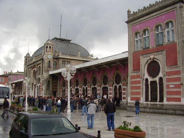 Istanbul Sirkeci Train Station