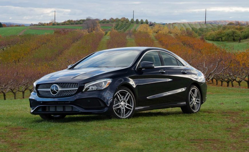2017 Mercedes-Benz CLA250 4MATIC